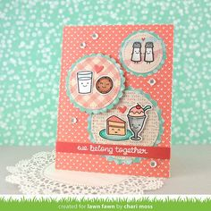 Lawn Fawn We Go Together Card by Chari Moss.
