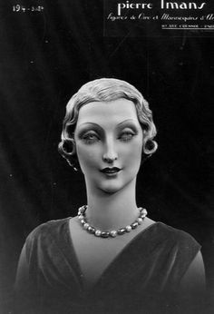 Frightening Beauty of the 1920s - Pierre Imans' Wax Mannequins That Look Like Real Women