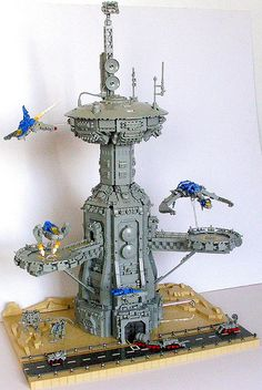 Onyasis Tower by Legoloverman, via Flickr