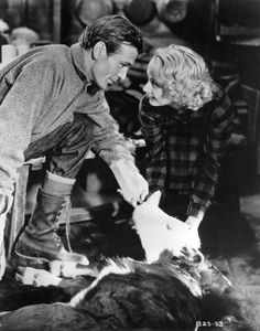 Gary Cooper and Carole Lombard