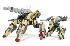 "From Brothers Brick: ""The Japanese builders know their mechs, and this one by Legorobo is a prime example. Beyond looks, the mech features remote controlled movement and more."" AFA5-06 by Legorobo"