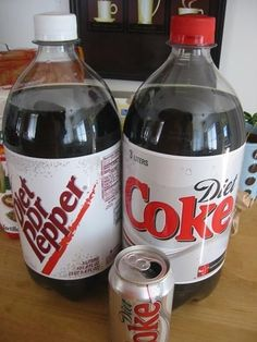 Keep a bottle of soda from going flat Once you're done with your soda for the day, shake it up before putting it back in the fridge. It'll stay fizzy for weeks.