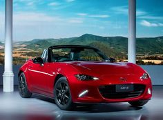 Mazda MX-5 front background