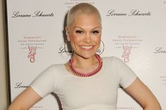 Jessie J. Not a fan musically, but I love a woman who can rock a shaved head.