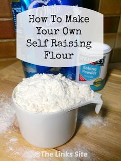 Never run out of self raising flour again with this super easy way to make your own. Now you will never have to make a dash to the store to buy more!