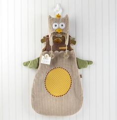 NEW Baby Aspen My Little Night Owl Snuggle Sack and Cap  0-6 Months Costume #BabyAspen #Holiday