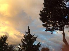 Der Himmel heut Abend in St. Genis