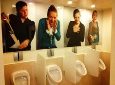 Funny pictures about Awkward Restroom. Oh, and cool pics about Awkward Restroom. Also, Awkward Restroom photos. Man Bathroom, Bathroom Humor, Design Bathroom, Bathroom Interior, Lol, Double Take, Just For Laughs, Amazing Bathrooms, I Laughed