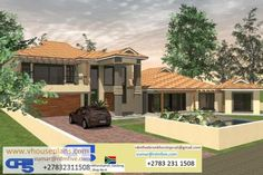 House plan no. double story house, dream homes, house plans, architecture Double Storey House Plans, Double Story House, Shop House Plans, House Floor Plans, Cafe Display, My Dream Home, Dream Homes, Modern Windows, Garage Plans