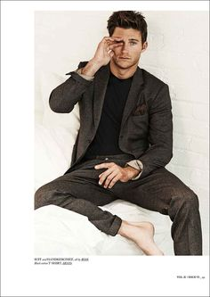 The Longest Ride's Scott Eastwood poses for Hercules Magazine