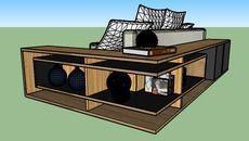 3D Model of APARADOR PARA SOFÁ UNNICA DESIGN