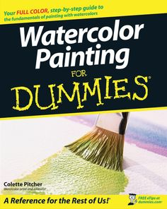 wiley publishers watercolor painting for dummies