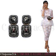 Pendientes Giselle ★ 13'95 € en https://www.conjuntados.com/es/pendientes/pendientes-largos/pendientes-giselle-negros-con-strass.html ★ #novedades #pendientes #earrings #conjuntados #conjuntada #joyitas #lowcost #jewelry #bisutería #bijoux #accesorios #complementos #moda #eventos #bodas #invitadaperfecta #perfectguest #party #fashion #fashionadicct #fashionblogger #blogger #picoftheday #outfit #estilo #style #streetstyle #GustosParaTodas #ParaTodosLosGustos