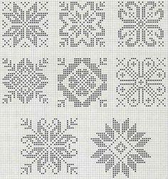 Узоры и модели зимних свитеров