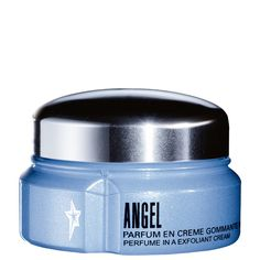 Angel Perfuming Exfoliant Cream - Experience a celestial massage with Thierry Mugler's Angel exfoliating cream. The designer exfoliant cream's micro-particles provide a heavenly shower or bath that leaves skin soft and perfumed with Angel.
