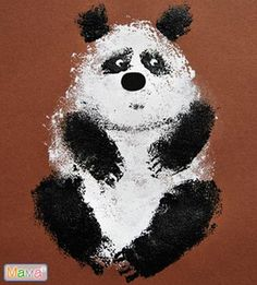 Painting For Kids, Art For Kids, Crafts For Kids, Flowers Wallpaper, Poster Photo, Kindergarten Art Lessons, Art Watercolor, Panda Art, Animal Art Projects