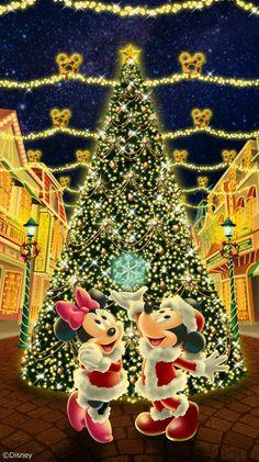 Disney Merry Christmas, Disney Christmas Decorations, Mickey Mouse Christmas, Christmas Costumes, Halloween Christmas, Christmas Time, Disney Kiss, Walt Disney Mickey Mouse, Disney Fun