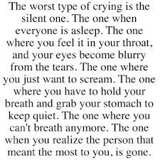 The worst feeling....I will always love you all forever and always but to be honest I hate that we have to now be in eachother's hearts and not by eachother's side, it hurts twice as much everyday, I love and miss you all so much