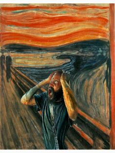 """""""The Scream (Death Grips)"""" T-shirt by TylerReitanArt , Music Memes, Sell Your Art, Oeuvre D'art, Scream, Les Oeuvres, Hip Hop, Death, Music Things, Cool Stuff"""
