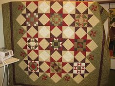 Quilting Away - BOM