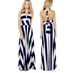 Cheap Dresses, Buy Directly from China Suppliers:Hot Sale Vestido Feminino Casual Royal Blue/Black Floor-Length Elegant Summer 2015 Fashion Women Clothing Maxi Dress Lon Cheap Dresses, Summer Dresses, Party Dresses, Vestidos Halter, High Street Fashion, Fashion Black, Style Fashion, Fashion Women, Fashion Beauty