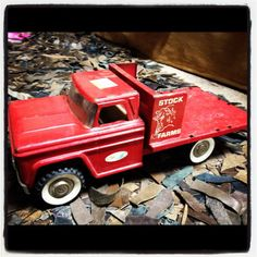 Vintage Toy Truck by therusticchick on Etsy, $30.00 Up for SALE!