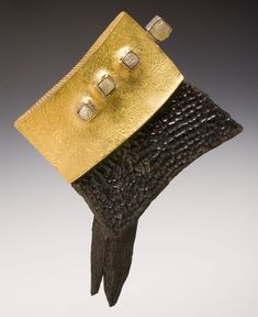 Featuring raw diamond and gold piece by Jeff and Susan Wise, jurors of selection for the 2014 TOP Jewels exhibition at the Durango Arts Center, May 16–June 28. To learn more, visit: http://durangoarts.org/top-jewels/