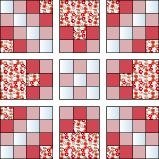 triple Irish chain tutorial-on my bucket list-could also be pieced via that magic piecing tutorial