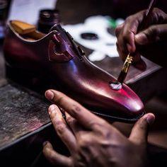 Handmade luxury mens dress shoes