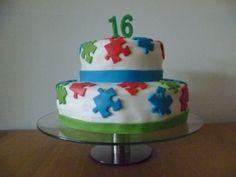 Verjaardagstaart Jonathan 16 jaar