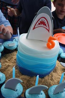 So awesome since he is going to be born around Shark Week