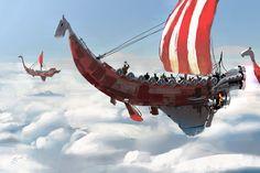 Modern Vikings by GorosArt.deviantart.com on @deviantART