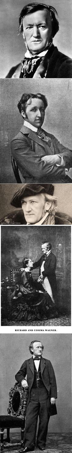 9. Richard Wagner (Рихард Вагнер) - 10 лучших композиторов мира по версии New York Times | Все о Музыке | Музыка на все времена... | Постила