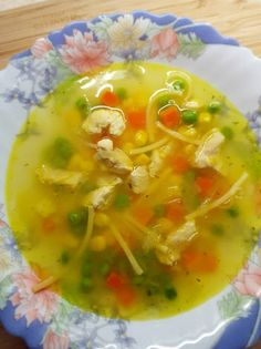 Healthy Meals, Healthy Recipes, Soups And Stews, Thai Red Curry, Food And Drink, Ethnic Recipes, Clean Eating, Healthy Eating Recipes, Healthy Lunches