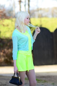 Pastel Neon Fashion