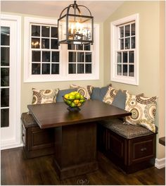 Picture Of Corner Kitchen Table Bench With Storage