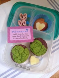 Lunch Made Easy: Happy Earth Day 2013! Dye Free, Gluten Free, Top 8 Allergen Free @Kelly Lester / EasyLunchboxes @Lunchbox Love from Say Please