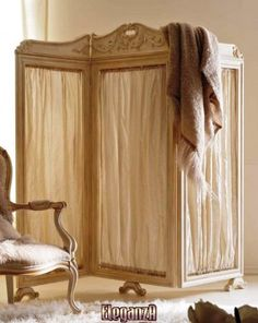 I've always wanted an oriental folding screen, just never knew the name . . .   Folding Screens