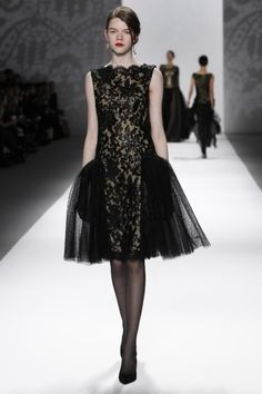 NYFW 3 : Ralph Lauren - 2012. Obviously inspired by vintage dresses from the '20's.