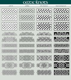 Celtic knots brushes by javi.ruiz on Creative Market Celtic knots brushes by javi.ruiz on Creative Market Celtic Tattoos For Men, Celtic Knot Tattoo, Irish Tattoos, Viking Tattoos, Celtic Knots, Wiccan Tattoos, Indian Tattoos, Viking Symbols, Celtic Symbols And Meanings
