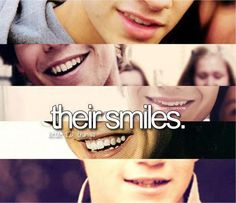 you're a true directioner if you can tell who they are by their smiles :)