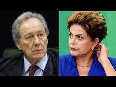 Ricardo Lewandowski, assina a sentença e é aplaudido Impeachment Dilma R...