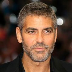 Scruff on Mr. Clooney?! Why yes....
