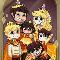 Marco and Star 4 shots Butterfly Family, Star Butterfly, Disney Art, Disney Movies, Disney Marvel, Star E Marco, Power Of Evil, Starco Comic, Star Force