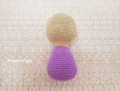 Free ballerina cat amigurumi pattern - crochet body