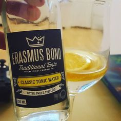 Found a fantastic new Tonic: #erasmusbondtonic #GinSelf #ginlovers