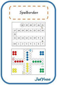 Op de site vind je kant en klare bordspellen die je gewoon kan afdrukken, je kan deze nog aanpassen, je kan er nog kaartjes bij maken op niveau van de klas. Dit is heel handig ook om je hierop te baseren.