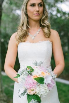 Wedding Dress: Junko Yoshioka Haute Couture Wedding Dresses - http://www.stylemepretty.com/portfolio/junko-yoshioka-haute-couture-wedding-dresses Floral Design: Ashley Elizabeth Floral Design And Styling - http://www.stylemepretty.com/portfolio/ashley-elizabeth-floral-design-and-styling Photography: Leah Vis Photography - http://www.stylemepretty.com/portfolio/vis-photography   Read More on SMP…