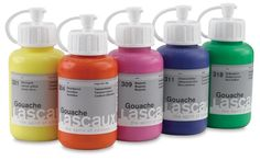 Lascaux Gouache is truly different from other gouaches. Developed by color experts in consultation with teachers and professional artists, this artist-quality acrylic gouache is richly hued, extremely lightfast, and non-bleeding. Because it's highly concentrated, it's also extremely economical to use!