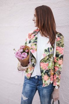 Floral Givenchy